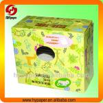 Cute cosmetic paper box for cotton pad