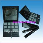 2014 Innovative paper cosmetics palette for eyeshadow packing