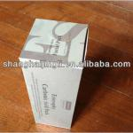 Paper cosmetic box for cosmetic packaging with logo printed
