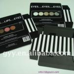 black paper Eye shadow packaging box