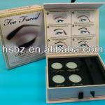 2013 new style eco-paper makeup box for eye shadow