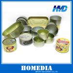 2-pc metal can for food packing