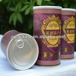Custom round/empty/Antique/kraft paper coffee can