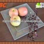 Light weight fashion disposable plastic fruit tray