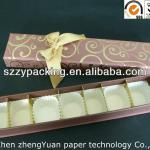 7PCS packed rectangle paper cake box