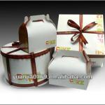 2013 Dongguan Custom Cake Boxes, Boxes for Cakes, Wedding Cake Card Box