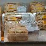 BOPS disposable plastic sandwich packaging box