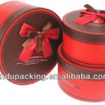 cylinder shape new design cake gift box design
