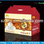 green ecofriendly and safe cake paper box wholesale