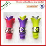 funny silicone wine stopper for sale