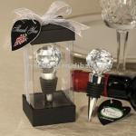 Elegant crystal wine stoppers YZWS001-L