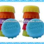 Food-grade brand-new soft eco-friendly sealed silicone bottle cap supplier
