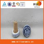 cheap custom souvenir ceramic bottle stopper