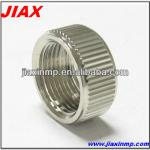 OEM Machining aluminum cap threaded