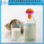 safety custom design silicone bottle plug