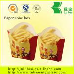 offset printed with logo paper cone with high quality and best price