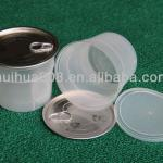 food grade transparent PP cup with easy open end