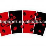printed paper cup fan/sleeve-JH4