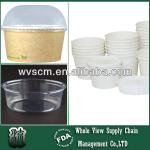 2014 hot selling ice cream plastic container