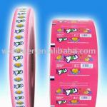 chewing gum package paper