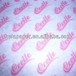 2013 24g/30g custom printed wax paper for food