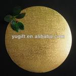 So hot ! Golden Round paper cake board