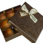 Color empty chocolate box wholesale in custermized designing