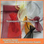 China colorful snow ORGANZA bags