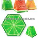 Fruit shaped paper bags