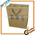 Promotional paper gift bags with handles