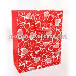 Red Custom Printed Packing Candy Paper Bag