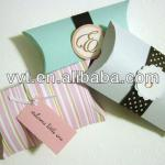Fashion pillow jewelry packaging paper box