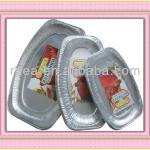 aluminum foil food container is well used for food catering