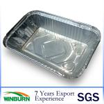 8011 Aluminium Foil Tray for Cake Catering Food