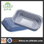 Aluminum foil container making machine for food