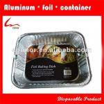 Aluminum Foil Half Size Deep Steam Pans For Food Use