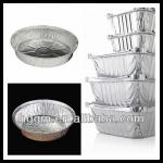 pie containers for aluminium foil food packaging
