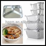 aluminum foil packaging containers for BBQ tray