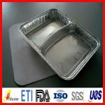 Aluminium foil container for food