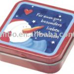 Tin cartoon cute mini cute multipurpose box