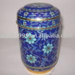 Cloisonne Tea Tin