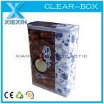 offset printing rectangular clear wholesale tea box