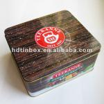 colorful printed metal tin box