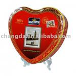 Popular Heart shape tea can tea box for gift packaging CD-172