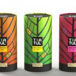 beautiful design of Cylinder tea box