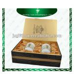 High quality classic style custom tea box gift packaging box