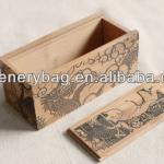 BAM-024 Natural bamboo wine bottle packing box
