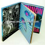 colorful custom paper cd packaging
