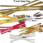 original new colorful PE plastic coated twist tie