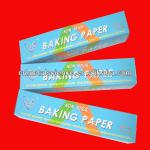 silicon transfer coated baking paper for baking/grilling/freezing foods